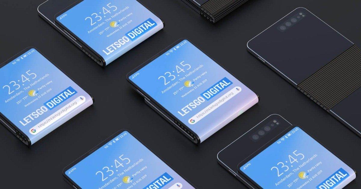 Samsung patenteia smartphone com design nunca antes visto