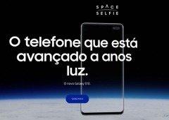Samsung quer a tua selfie no Espaço com o Galaxy S10. Entende como participar!