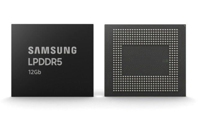 Módulo de memória RAM da Samsung