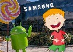 """Samsung riu-se na cara do """"Android"""" e a Google aproveitou-se! Tudo podia ser diferente"""