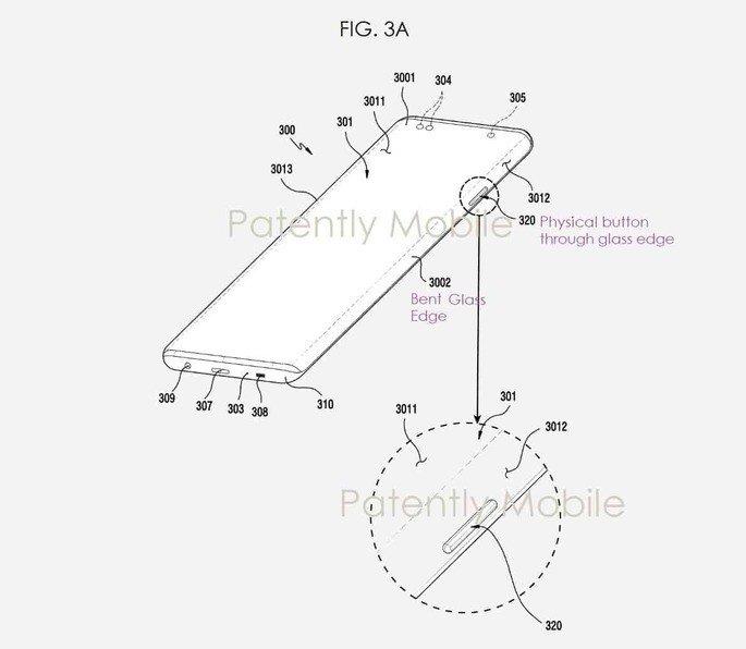 Patente ecrã