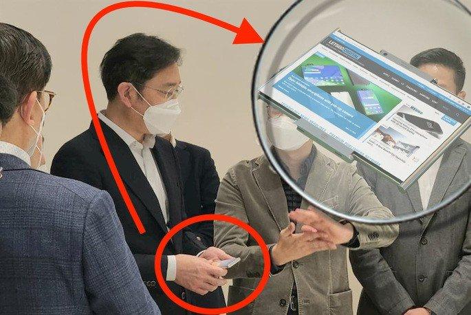smartphone samsung rolável