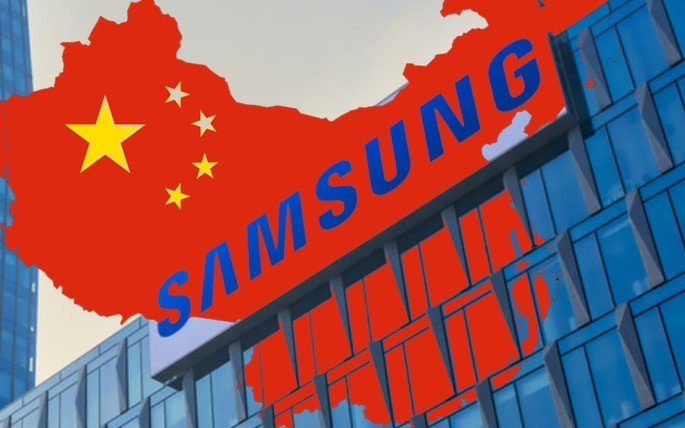 Samsung abandona China