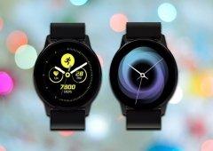 Samsung Galaxy Active: Renders mostram o smartwatch com a One UI