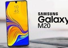 Samsung Galaxy M20 tem característica confirmada em nova imagem