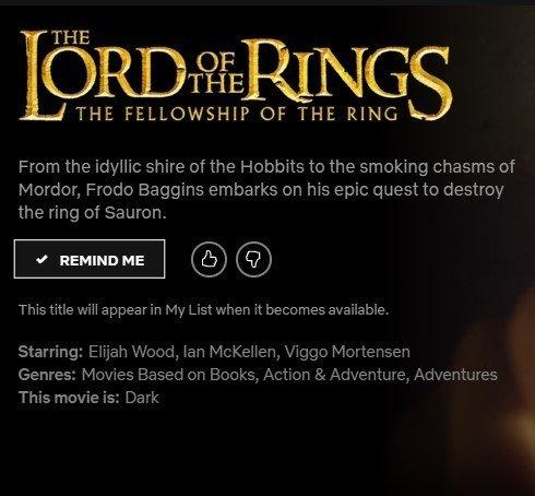 lrod of the rings