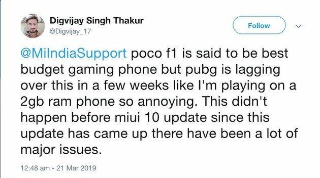 Problemas de lad no Xiaomi Pocophone F1