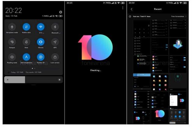 Xiaomi MIUI 10 Dark Mode