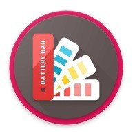 Battery Bar : Energy Bars on Status bar (Impecável)
