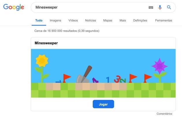 jogos pesquisa Google