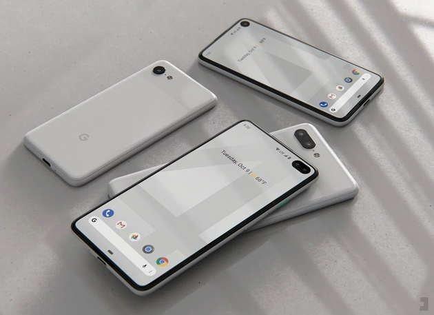 conceito do Google Pixel 4