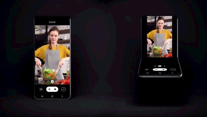 Samsung smartphone dobrável