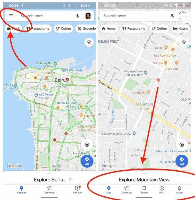 Google Maps novidades APK