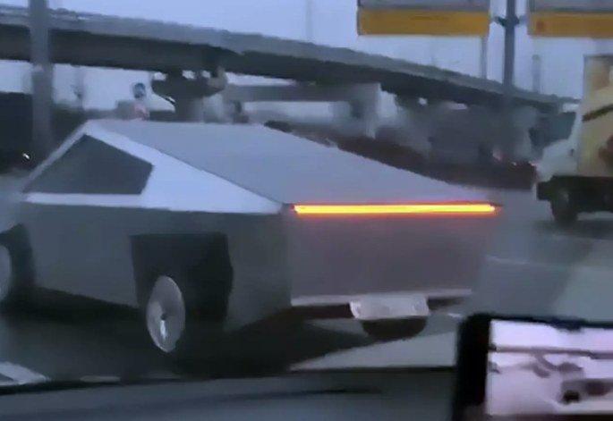 Tesla cybertruck Rússia