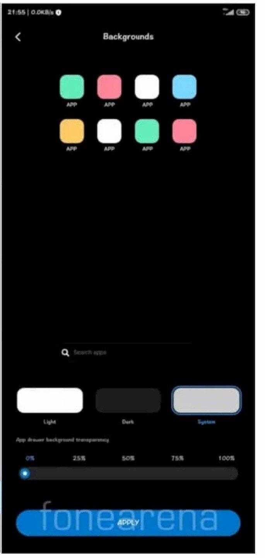 Gaceta de Apps na Xiaomi MIUI
