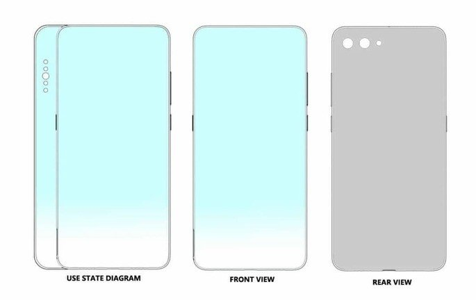 Xiaomi regista uma patente de um smartphone com duplo ecrã na lateral