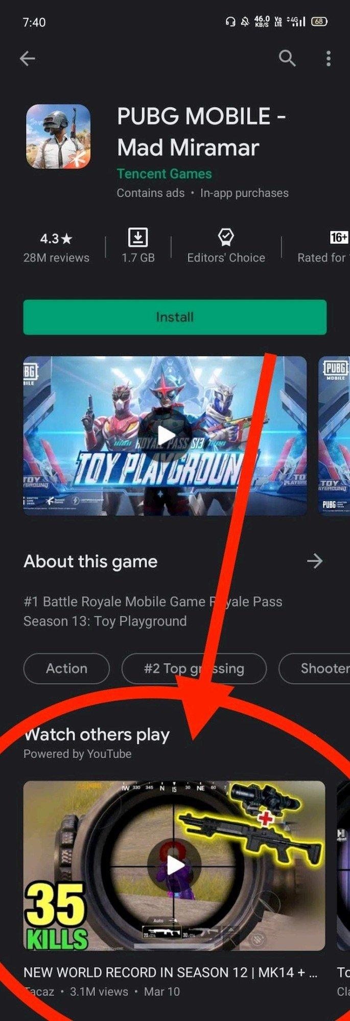 Google Play Store gameplays