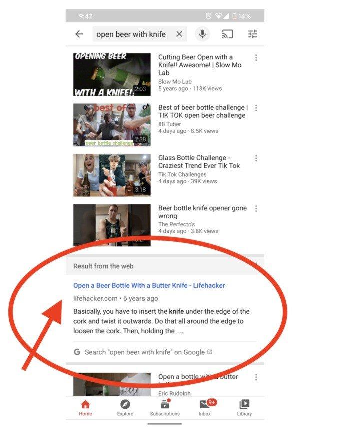 YouTube aplicação android novidades