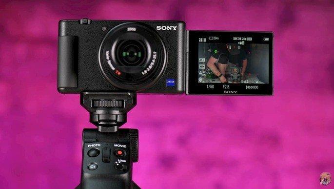 Sony ZV-1 câmara vlogers Youtubers