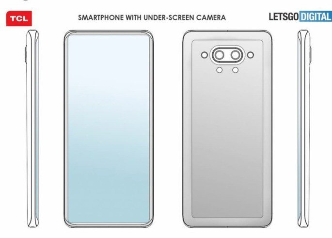 Patente TCL futuro dos smartphones