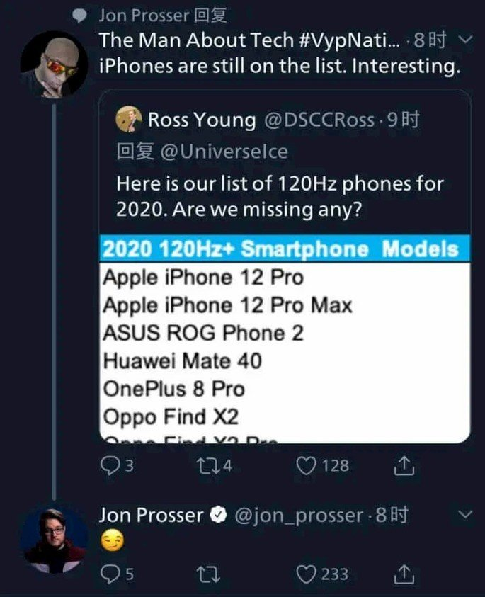 iPhone 12 Pro terão ecrã de 120Hz de Refresh Rate