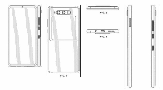 Huawei smartphone patente