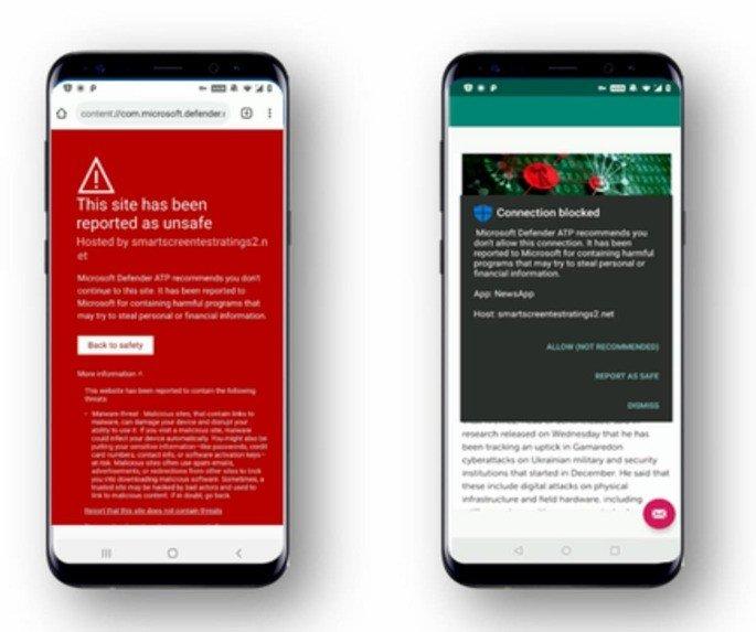 Microsoft antivírus para smartphones Android