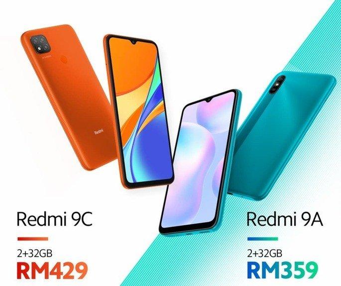 Xiaomi Redmi 9A Redmi 9C