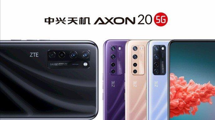 smartphone com câmara dentro do ecrã