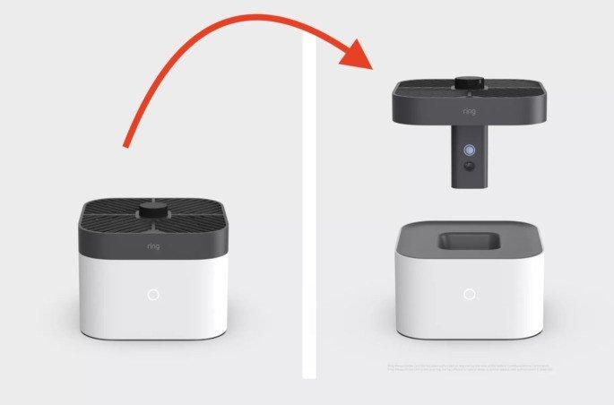 Novo Ring câmara de segurança da Amazon