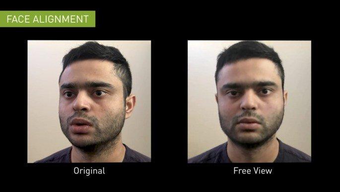Nvidia melhorias chamadas de vídeo