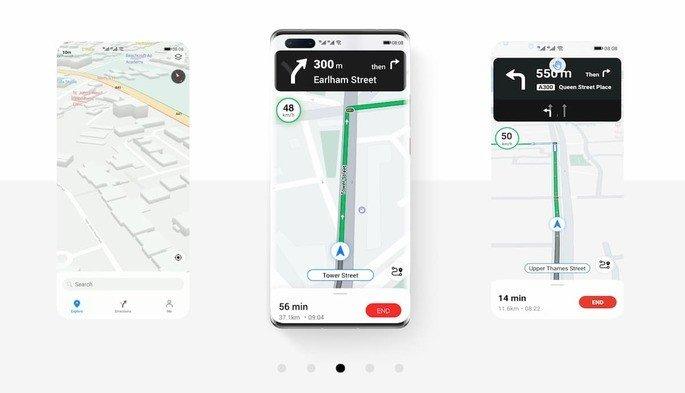 Google Maps Huawei Petal Maps