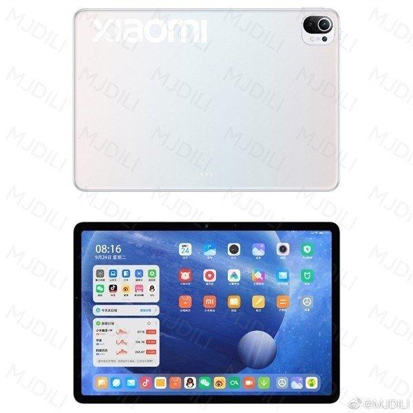 Alegado design do Xiaomi Mi Pad 5. Crédito: MyDrivers