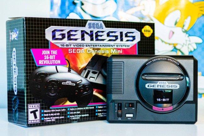 Sega Mega Drive Mini é oficial! Conhece a nova consola nostálgica