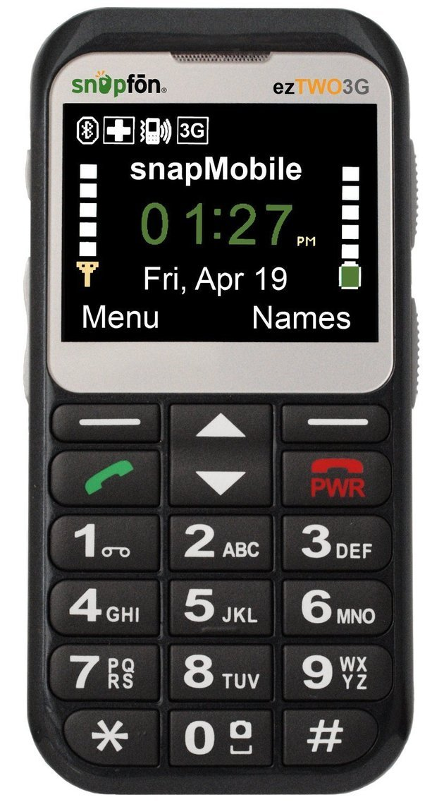 Snapfon - Telemóveis para idosos