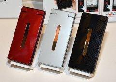 Sharp Aquos K SHF31 é uma mistura de smartphone e telemóvel de concha
