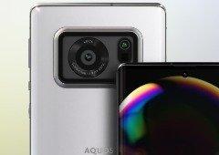 """Sharp Aquos R6: o smartphone que """"roubou"""" a última esperança da Huawei"""