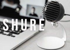 SHURE MV5C: novo microfone ideal para teletrabalho e Home Office