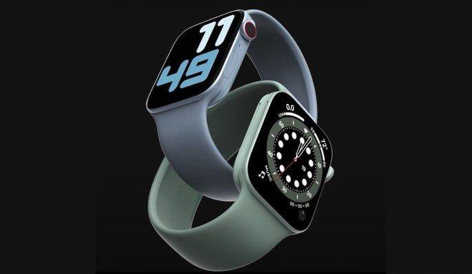 Design esperado do Apple Watch Series 7