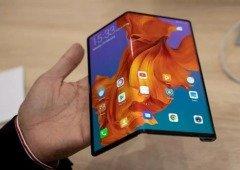Smartphone dobrável da LG mais parece o Huawei Mate X