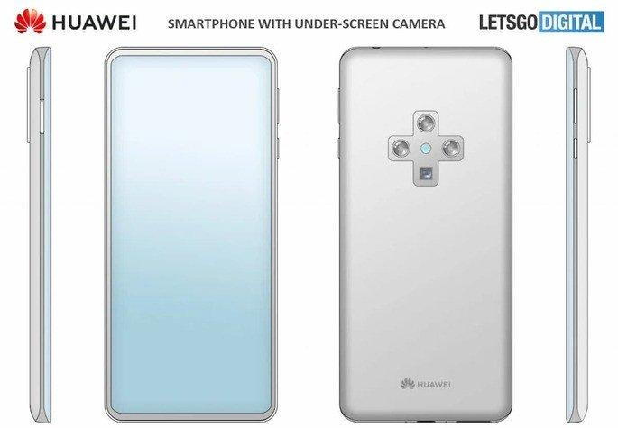 smartphone patente Huawei