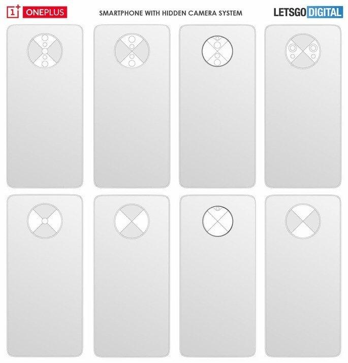 OnePlus 8 patentes