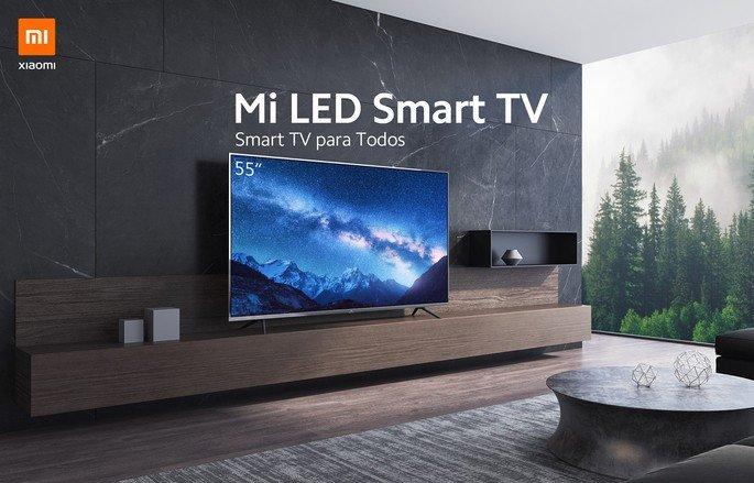Smart TV Xiaomi televisões inteligentes