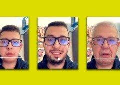 Snapchat ganha filtro da máquina do tempo! De velho para novo e vice-versa