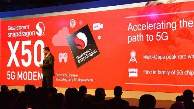 Conferência da Qualcomm com processadores Snapdragon