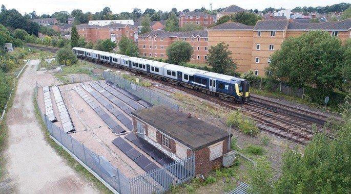 Comboio energia solar
