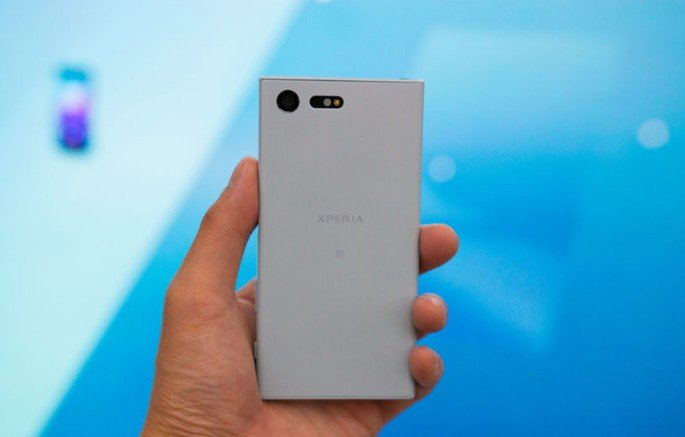 Sony Xperia compact smartphone Android