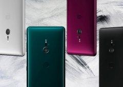 Sony Xperia XZ3 aparece em todas cores e todos os ângulos