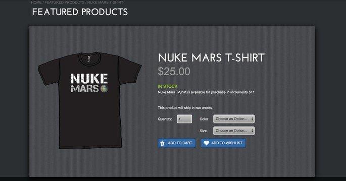 Space X Nuke Mars Nuclear Marte