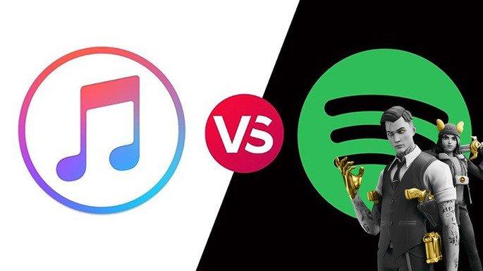 Apple Spotify Epic Games
